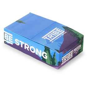 TRIBE Vegan Protein Bar Box 16x50g, brownie